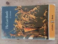 Rare vintage book the last battle by C.S Lewis