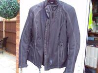 Ladies richa textile suit