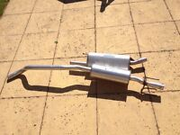 Corsa B complete exhaust system