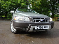 56 VOLVO XC70 SE D5 AUTOMATIC 2.4 CROSS COUNTRY 4X4 ESTATE,MOT JULY 018,2 OWNER,FULL HISTORY,2 KEYS,