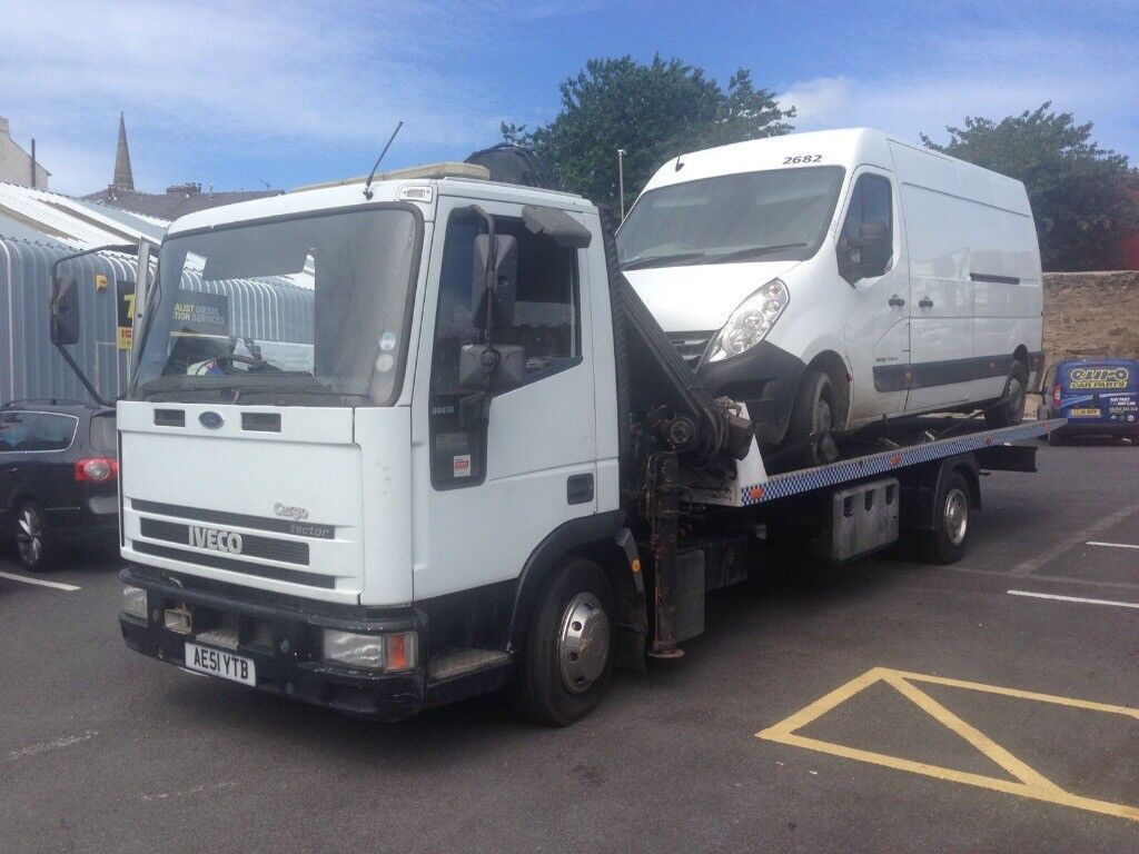 Ford tector Recovery tilt and slide 22ft Hiab 4ton led beacon new tyres new led rear bar