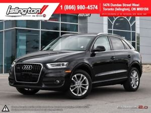2015 Audi Q3 Technik CERTIFIED & E-TESTED! **FALL SPECIAL!**