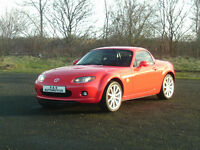 2007 MAZDA MX-5 ROADSTER 2.0 SPORT 12 MONTHS M.O.T 6 MONTHS WARRANTY (FINANCE AVAILABLE)