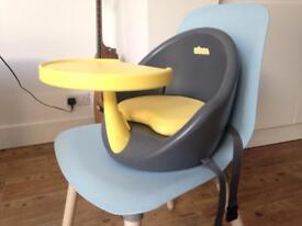Beaba Booster Seat Lime/Grey