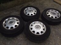 tyres for golf mk4 Volkswagen Golf with Steel Wheels 15 zoll