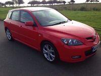 STUNNER! 2008 *58* Mazda 3 Sport 2.0 16V **6 SPEED**F.S.H**MOT DECEMBER**LOVELY CAR