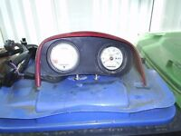 info gauges + speedo for seadoo gtx jetski may fit other models comes with wire harness