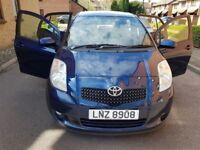 2008 Toyota Yaris 1.3 VVT-i T3 5dr Manual @07445775115 1Lady+Owner+From+New+Warranty