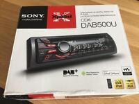 DAB/FM/MW/LW Digital Radio CD Player - CDX-DAB500U