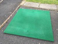 Playground safety flooring / artificial grass / rubber mat 3cm x 2.1sq M