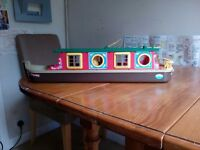 Rose of Sylvania Canal Boat (some parts missing)