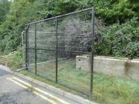 Compound yard metal gates. 2.35 m high 8 m wide!