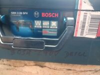 bosch gbh 240 volt mains drill with case..heavy duty drill.