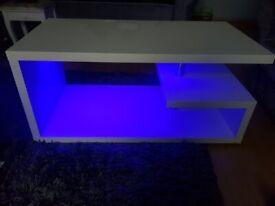 Alaska LED coffee table