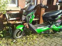 Ztech elictic 2seat moped