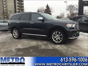 2016 Dodge Durango Citadel-Fully loaded&Low mileage