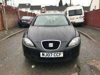Seat Leon 2007 Diesel-Long MOT-Very Low Mileage-Excellent car-PRICE REDUCED