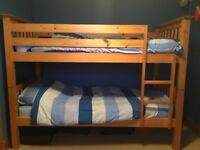 Solid Pine Bunk Beds Single Beds For Sale Gumtree