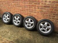 Mini (BMW) alloy wheels & tyres