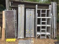 Boss Youngman Alumnium scaffold tower narrow evolution 6.7M X 1.8M