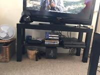 Ikea black tv bench