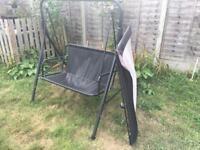 FREE Garden black swing chair