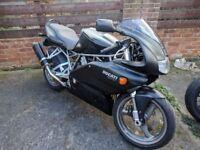 2002 Ducati 750 Super Sport Matt Black Lovely Example