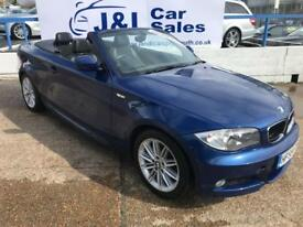 BMW 1 SERIES 2.0 118D M SPORT 2d 141 BHP A GREAT EXAMPLE INSIDE AND OUT (blue) 2009