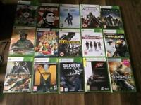 Xbox 360 s 250gb with Kinect sensor and 15 games