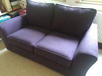 Marks and Spencer's Lincoln small sofa in Plum (dark purple), brand new. H91cm x W169cm x D93cm