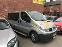 Manchester City Council 9 Seater Taxi Track