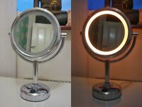 No7 light up mirror - 2-sided