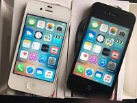 iPhone 4S Unlocked x 2 Good Condition boxed