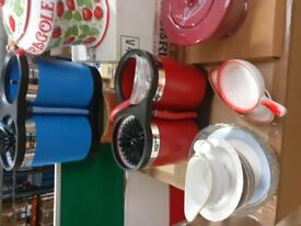BUNDLE OF VARIOUS GLASS/CROCKERY/COFFE POTS £1