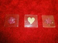 Glass coasters/Decorative items