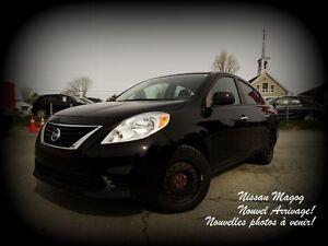 2012 Nissan Versa 1.6 SV + A/C + PROLONGÉE + AUCUN ACCIDENT!!!