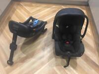 Joie igemm car seat and isofix base