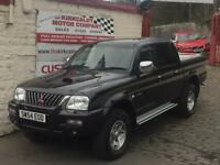 MITSUBISHI L200 WARRIOR LWB (black) 2004