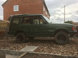 Discovery 200tdi off road