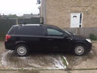 Black Vauxhall Astra Van for sale. 55,000 miles, 2 previous owners, full service history.