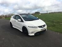 Honda Civic type r championship white