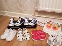 Kids size 6 bundle of shoes