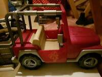 Our Generation Pink Car / Jeep