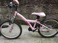 Girls bike age 5/8