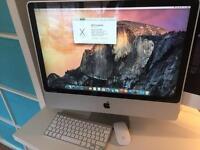 "iMac 24"" early 2009 4GB Intel Core 2 Duo 2.66GHz"