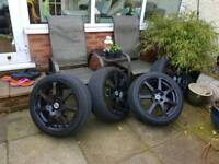 Alloy wheels 5x100 Inovite Redline
