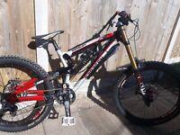 Saracen Myst Team Madison 2013 DH Bike