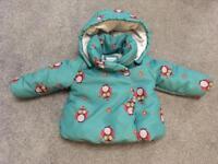 John Lewis Girl 12-18 month warm jacket
