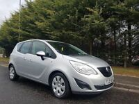 MARCH 2011 VAUXHALL MERIVA EXCLUSIV 1.3 CDTI TURBO DIESEL EXCELLENT LOW MILEAGE EXAMPLE ONLY 53K
