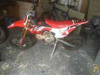 Pit bike for sale.
